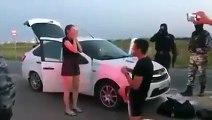 Arrestation d'un trafiquant de drogue (Russie)