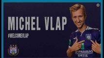 Anderlecht officialise l'arrivée de Michel Vlap