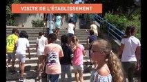 Liaison école- collège : visite du collège Roland Garros de Nice