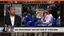 Kevin Durant told Thunder he wasn't leaving before joining Warriors - Stephen A.