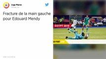 Ligue 1 : Blessé à la main, Édouard Mendy sera absent un mois