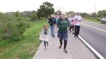 95-year-old WWII vet crossing U.S. to raise money for Navy ship