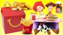 Woody and Jessie From TOY STORY 4 Eat a McDonald's Happy Meal - Toys Unlimited