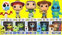 TOY STORY 4 Movie Funko Pop with Sheriff Woody, Buzz Lightyear and Forky