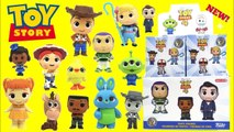 Disney TOY STORY 4 Funko Mystery Minis Unboxing with Woody, Forky, Buzz and More-