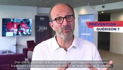 Présentation du nouveau Président du Leem : Frédéric Collet
