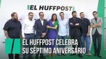 'El HuffPost' celebra su séptimo aniversario