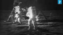 Les images des premiers pas de l'Homme sur la Lune mises aux enchères