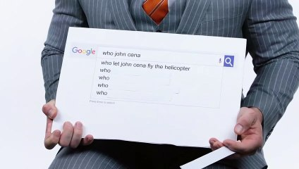 John Cena Answers the Webs Most Searched Questions  WIRED