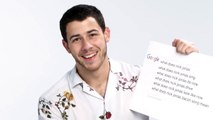 Nick Jonas Answers the Webs Most Searched Questions  WIRED