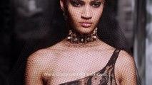 Savoir-faire : les secrets de la robe du soir en dentelle Dior haute couture