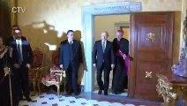 بوتين يلتقي البابا فرنسيس في مستهل زيارة خاطفة لروما
