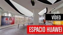 Así es Espacio Huawei, la tienda más grande del mundo de Huawei