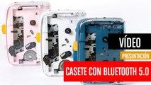 IT'S OK, el reproductor de casete portátil con Bluetooth 5.0