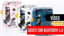 IT'S OK, el reproductor de casete portátil con Bluetooth 5.0