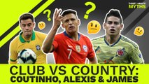James, Alexis & Coutinho: Copa America Stars but Europe's Failures? | Three Minute Myths