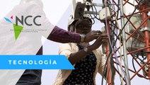 Mujer pionera en la ingeniería de redes en África