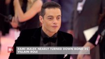 Rami Malek Wasn't Going To Be In Bond 25