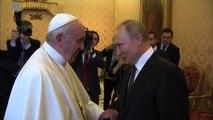 Putin a Roma, incontro con Papa Francesco in Vaticano