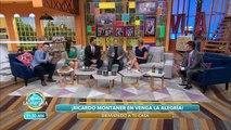 Ricardo Montaner visitó el foro de VLA. | Venga La Alegría