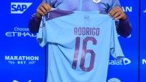 Rodri presented at Manchester City