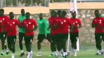 Senegal train ahead of AFCON round of 16 clash with Uganda