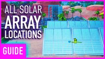 Fortnite: Visit A Solar Array In The Desert, Snow, and Jungle | Season 9 Week 9 Challenge Guide