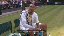 Wimbledon : Quand Nick Kyrgios provoque l'arbitre