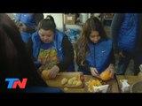 Julio en mi Barrio: En medio del frío, la ayuda para los que viven en la calle