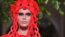 Valentino's Catwalk Graced By Explosive, Bold Colors