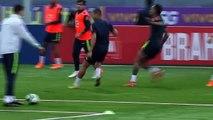 Brazil train ahead Copa America final against Peru