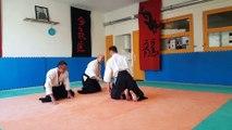 Comps : ceinture noire d'aïkido  pour Hugo Pizzo