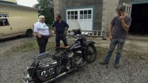 American Pickers: A Vintage 1947 Flathead Harley Davidson Motorcycle