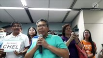 Chel Diokno to teary-eyed supporters: I will never forget the love you gave me