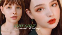 CHIT-CHAT Warm Sunset Makeup  Life Update Sissel
