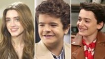 'Stranger Things' Yearbook: Gaten Matarazzo, Noah Schnapp, Natalia Dyer On Which Character is the Biggest Flirt | In Studio