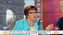 """Christiane Lambert (FNSEA): avec """"70.000 postes non pourvus (...) Il y a du travail en agriculture, nous attendons des candidats"""""""