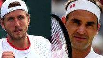 """Wimbledon 2019 -  Lucas Pouille a rendez-vous avec Roger Federer : """"Je ne suis pas là pour l'admirer"""""""