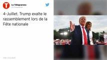États-Unis : Face aux critiques, Trump exalte le rassemblement lors de la fête nationale