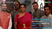 Budget 2019   FM Nirmala Sitharaman injects Rs 70,000 crore booster shot for public sector banks