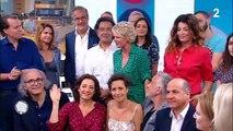 """Emue, Sophie Davant a fait ses adieux à """"C'est au programme"""" ce matin sur France 2 après 20 ans de présentation"""