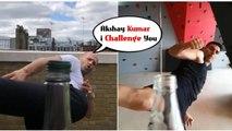 Akshay Kumar is inspired by Jason Statham, aces the bottle cap challenge like a boss