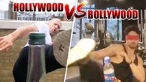 Tiger Shroff beats Akshay Kumar & Jason Statham !Nails the #BottleCapChallenge with his eyes closed