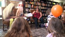 Drag queens read books to children to teach them about acceptance and gender identity