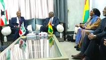 Le président du Somaliland Muse Bihi Abdi en visite à Conakry...