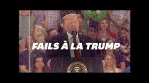 Donald Trump s'est (encore) embrouillé dans les faits historiques le 4 juillet