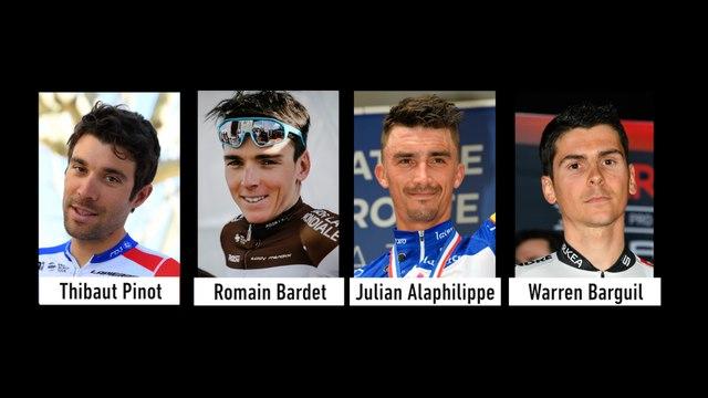 À quoi peuvent prétendre les Français Pinot, Bardet, Alaphilippe et Barguil ? - Cyclisme - TDF 2019