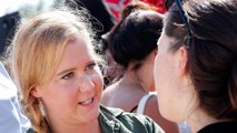 Amy Schumer shows off caesarean section scar