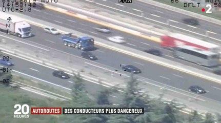 Autoroutes : les Français ont un mauvais comportement - ZAPPING ACTU HEBDO DU 06/07/2019