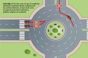 VÍDEO: Así es cómo hay que circular por una rotonda, ¡no cuesta nada!